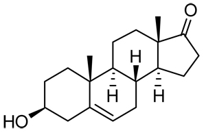 Structural Formula DHEA.