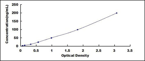 Typical Testing Data/Standard Curve (for reference only) HSP90.