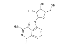 Structure Triciribine.