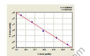 Typical Standard Curve/Testing Data CYP1B1.